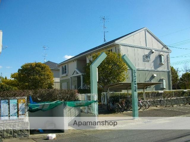 愛知県名古屋市天白区、植田駅市バスバス14分西入町下車後徒歩5分の築26年 2階建の賃貸アパート