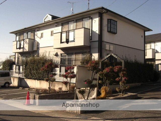 愛知県名古屋市名東区、一社駅市バスバス11分大針下車後徒歩6分の築24年 2階建の賃貸アパート