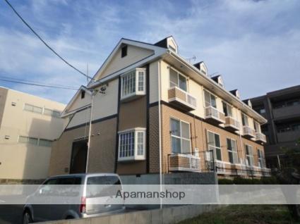 愛知県名古屋市名東区、星ヶ丘駅市バスバス24分極楽下車後徒歩2分の築25年 2階建の賃貸アパート