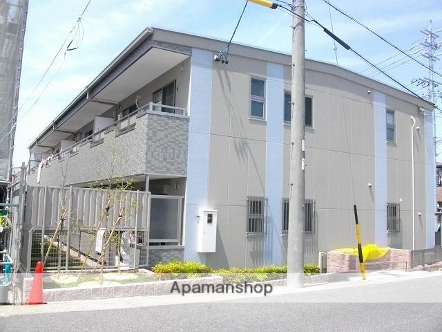 愛知県名古屋市緑区、有松駅市バスバス10分砂田一丁目下車後徒歩1分の築6年 2階建の賃貸アパート