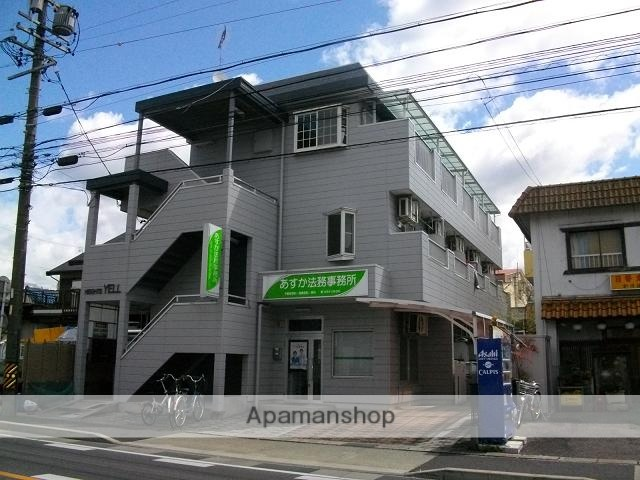 愛知県名古屋市天白区、塩釜口駅徒歩7分の築28年 3階建の賃貸マンション