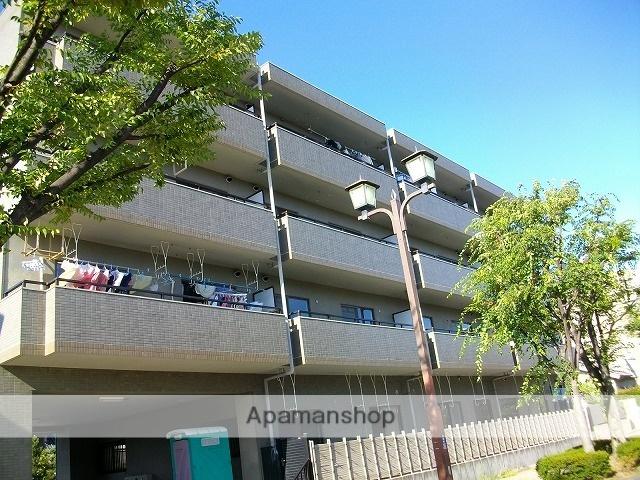 愛知県日進市、赤池駅徒歩3分の築22年 4階建の賃貸マンション