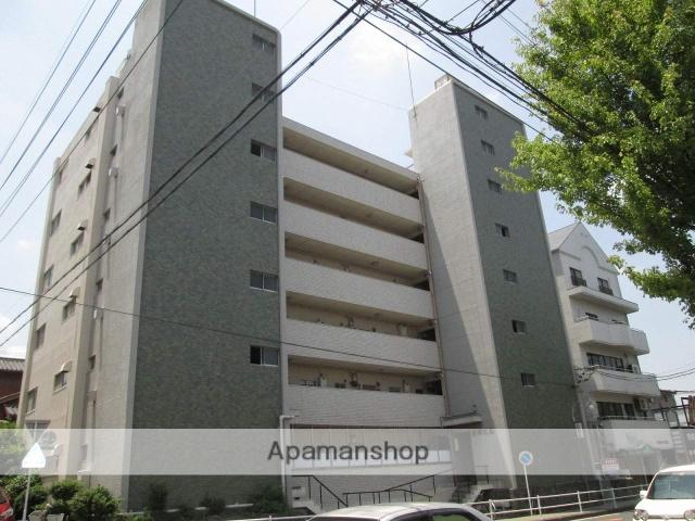 愛知県名古屋市名東区、星ヶ丘駅市バスバス12分新宿下車後徒歩2分の築44年 6階建の賃貸マンション