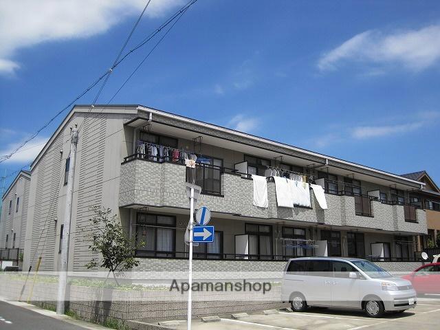 愛知県名古屋市緑区、有松駅市バスバス8分鎌倉台中学校下車後徒歩3分の築15年 2階建の賃貸アパート