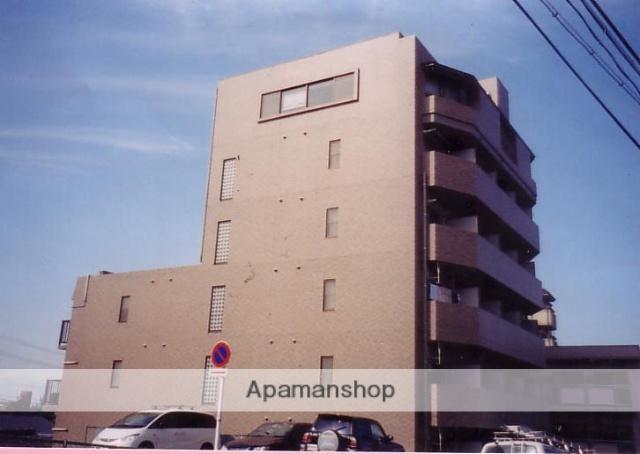 愛知県名古屋市天白区、植田駅市バスバス9分天白中学校前下車後徒歩2分の築18年 6階建の賃貸マンション