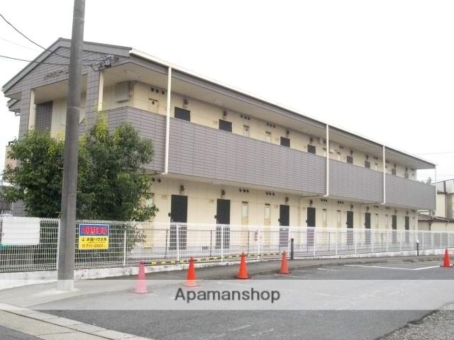 愛知県名古屋市緑区、徳重駅名古屋市営バスバス7分平手下車後徒歩3分の築22年 2階建の賃貸アパート
