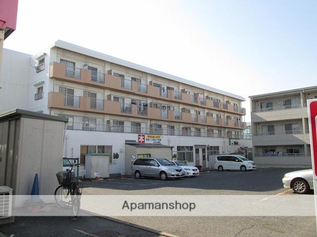 愛知県名古屋市天白区、原駅徒歩15分の築35年 4階建の賃貸マンション