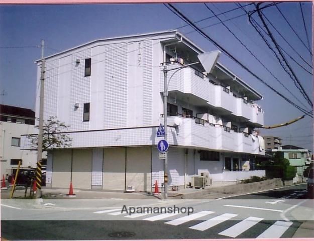 愛知県名古屋市緑区、徳重駅市バスバス12分鴻仏目下車後徒歩4分の築20年 3階建の賃貸マンション