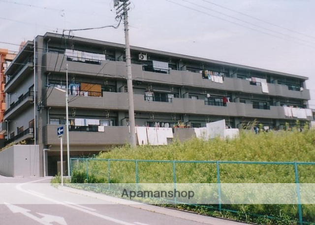 愛知県名古屋市天白区、植田駅徒歩13分の築20年 3階建の賃貸マンション
