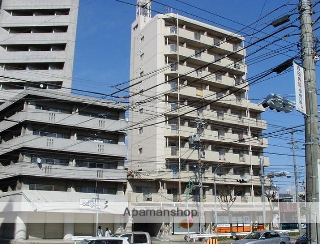 愛知県名古屋市天白区、植田駅徒歩7分の築33年 10階建の賃貸マンション