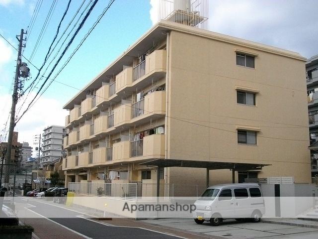 愛知県名古屋市天白区、植田駅徒歩7分の築35年 4階建の賃貸マンション