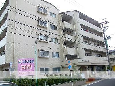 愛知県名古屋市名東区、星ヶ丘駅市バスバス15分高針下車後徒歩3分の築16年 3階建の賃貸マンション