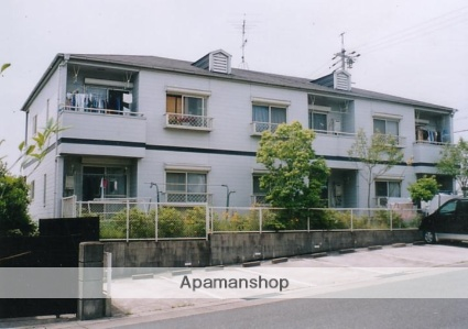 愛知県名古屋市天白区、星ヶ丘駅市バスバス16分鴻ノ巣下車後徒歩6分の築26年 2階建の賃貸アパート