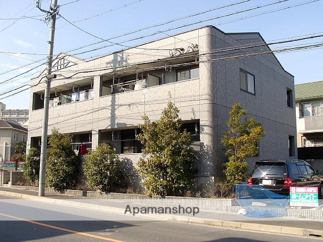 愛知県名古屋市天白区、平針駅市バスバス14分東神の倉一丁目下車後徒歩2分の築16年 2階建の賃貸アパート