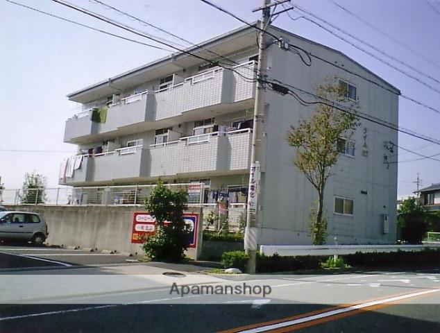 愛知県名古屋市緑区、野並駅市バスバス16分鍋山下車後徒歩1分の築22年 3階建の賃貸マンション