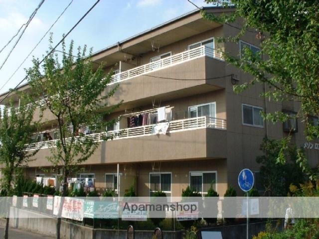 愛知県名古屋市緑区、野並駅市バスバス20分大清水西下車後徒歩2分の築23年 3階建の賃貸マンション
