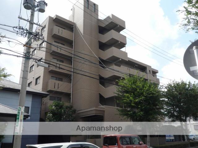 愛知県名古屋市緑区、有松駅徒歩15分の築25年 6階建の賃貸マンション