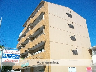 愛知県名古屋市名東区、星ヶ丘駅市バスバス9分高針下車後徒歩1分の築31年 5階建の賃貸マンション