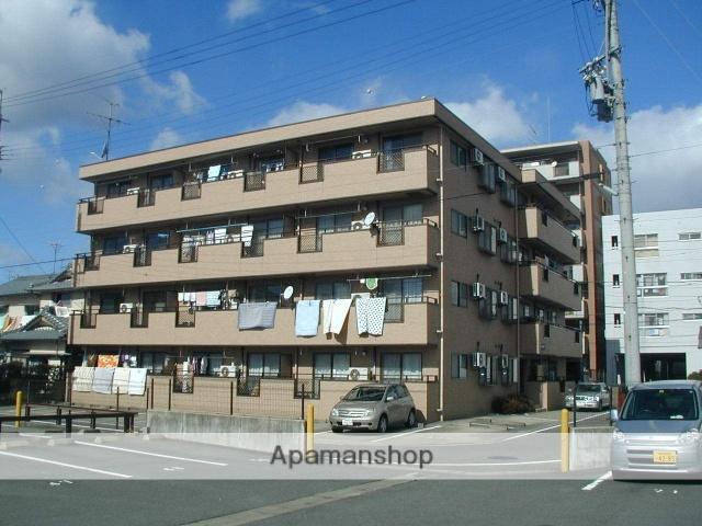 愛知県犬山市、犬山駅徒歩6分の築23年 4階建の賃貸マンション