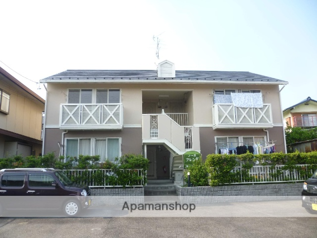 愛知県犬山市、犬山遊園駅徒歩30分の築27年 2階建の賃貸アパート