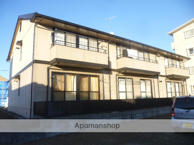 愛知県犬山市、犬山駅徒歩8分の築23年 2階建の賃貸アパート