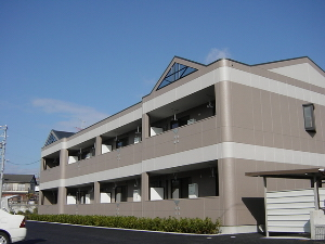 岐阜県各務原市、鵜沼駅徒歩17分の築12年 2階建の賃貸アパート