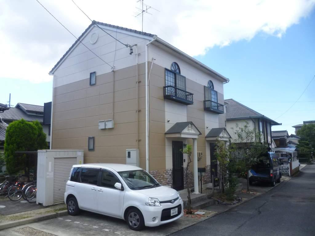 愛知県犬山市、犬山口駅徒歩4分の築17年 2階建の賃貸アパート