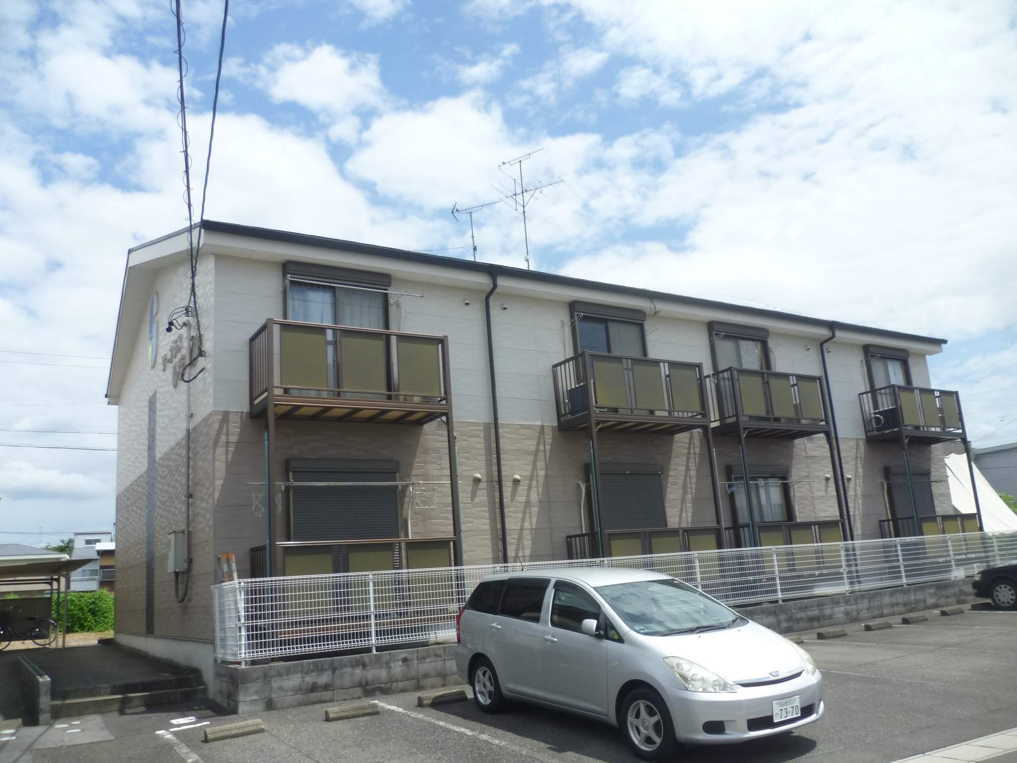 愛知県犬山市、犬山口駅徒歩20分の築19年 2階建の賃貸アパート