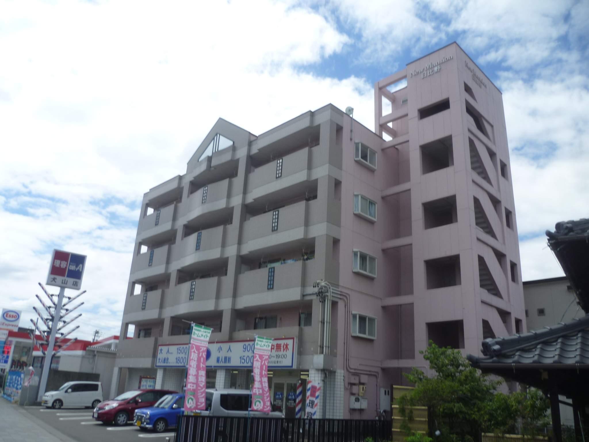 愛知県犬山市、犬山口駅徒歩8分の築25年 5階建の賃貸マンション