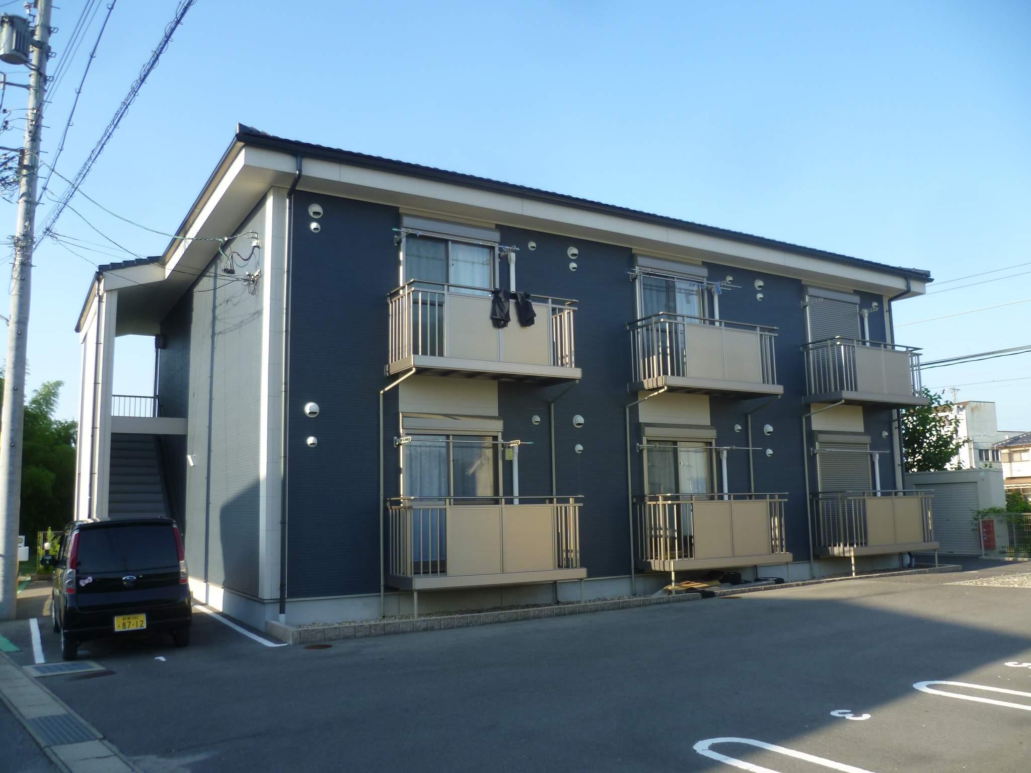 愛知県犬山市、羽黒駅徒歩15分の築6年 2階建の賃貸アパート