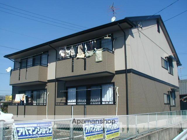 愛知県犬山市、楽田駅徒歩6分の築22年 2階建の賃貸アパート