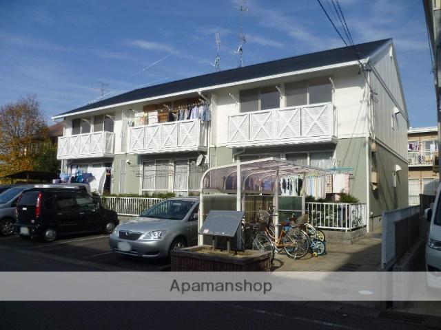 愛知県犬山市、犬山口駅徒歩23分の築26年 2階建の賃貸アパート