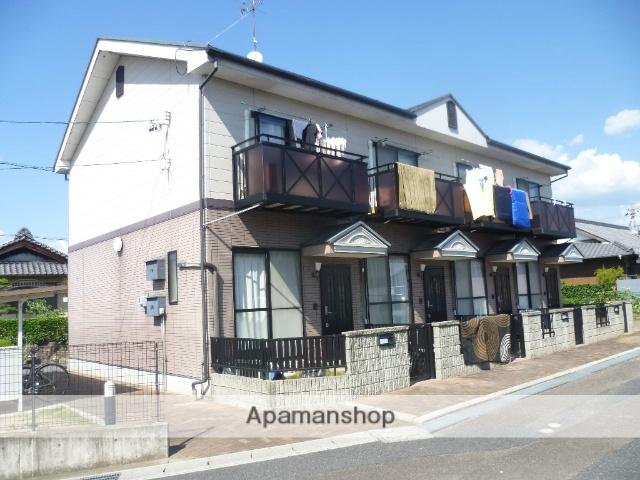 岐阜県各務原市、鵜沼駅徒歩17分の築15年 2階建の賃貸テラスハウス