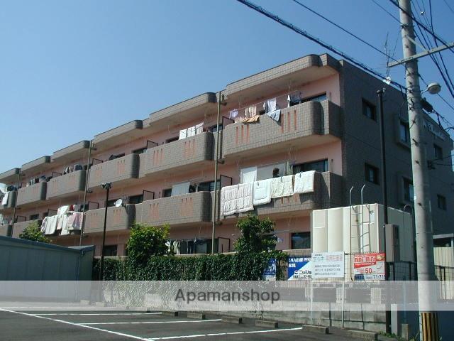 岐阜県各務原市、鵜沼駅徒歩5分の築18年 3階建の賃貸マンション