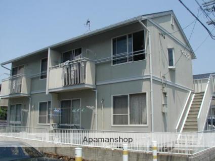愛知県犬山市の築25年 2階建の賃貸アパート