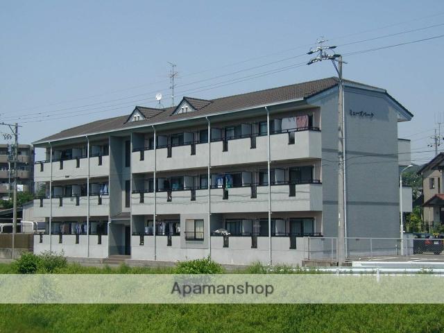 愛知県犬山市、犬山駅徒歩9分の築21年 3階建の賃貸マンション