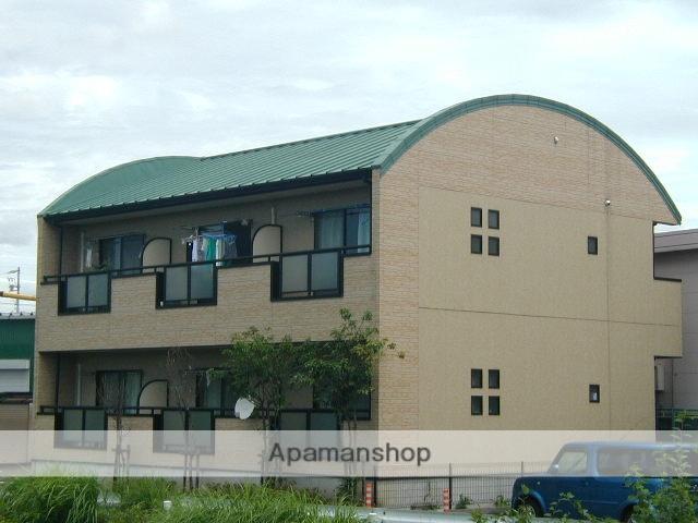 愛知県犬山市の築15年 2階建の賃貸アパート