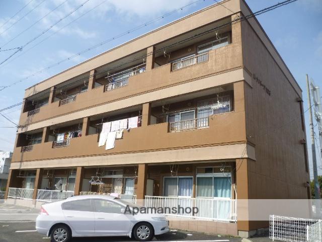 愛知県丹羽郡扶桑町、柏森駅徒歩25分の築26年 3階建の賃貸アパート