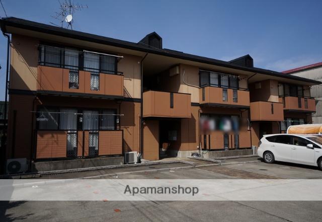 愛知県あま市、甚目寺駅徒歩20分の築22年 2階建の賃貸アパート