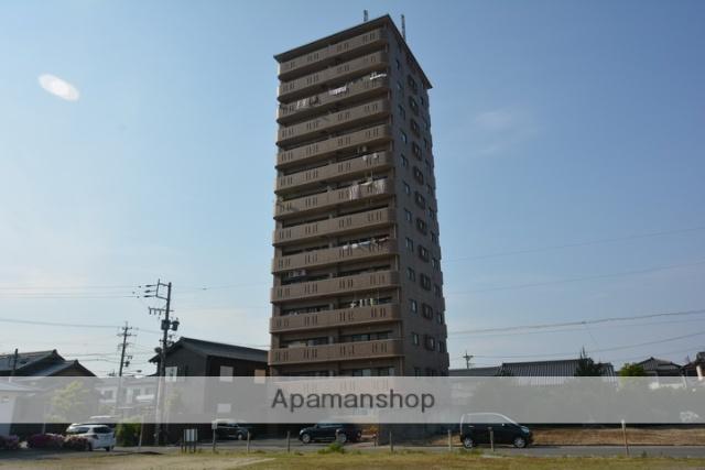 愛知県津島市、木田駅徒歩42分の築20年 14階建の賃貸マンション