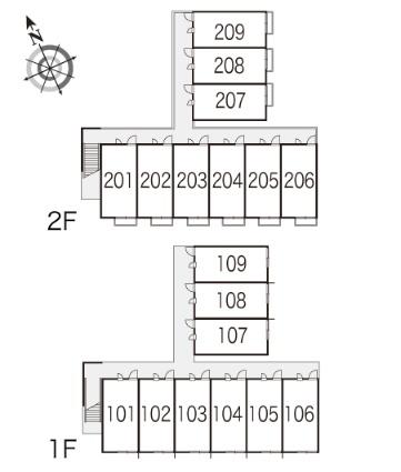 レオパレスマンリィ[1K/20.28m2]の内装2