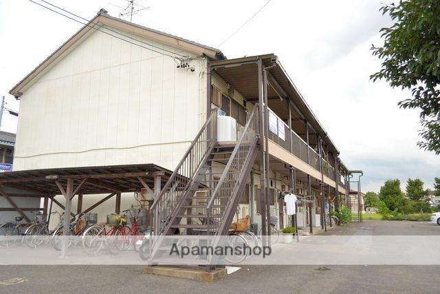 愛知県稲沢市、奥田駅徒歩38分の築51年 2階建の賃貸アパート