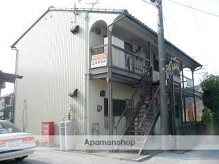 愛知県一宮市、尾張一宮駅名鉄バスバス17分平島下車後徒歩10分の築42年 2階建の賃貸アパート