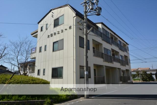 愛知県清須市、清洲駅徒歩17分の築33年 3階建の賃貸マンション