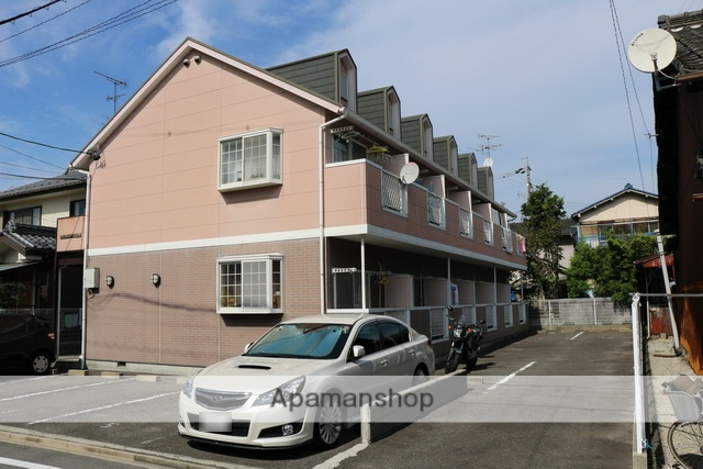 愛知県清須市、枇杷島駅徒歩15分の築18年 2階建の賃貸アパート