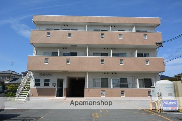 愛知県あま市、七宝駅徒歩27分の築14年 3階建の賃貸アパート
