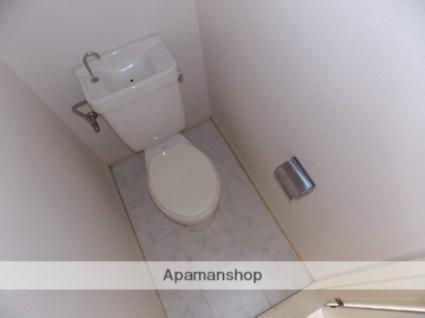 エバーグリーン[1R/20m2]のトイレ