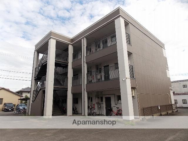 愛知県一宮市、石仏駅徒歩29分の築30年 3階建の賃貸マンション