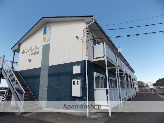 愛知県小牧市、岩倉駅徒歩28分の築24年 2階建の賃貸アパート