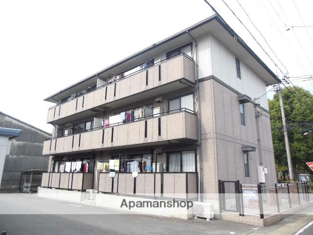 愛知県名古屋市西区、小田井駅徒歩21分の築17年 3階建の賃貸アパート